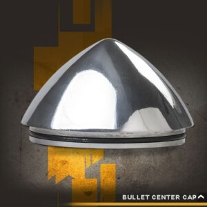 Rocket Racing Wheels -Bullet-Center-Cap