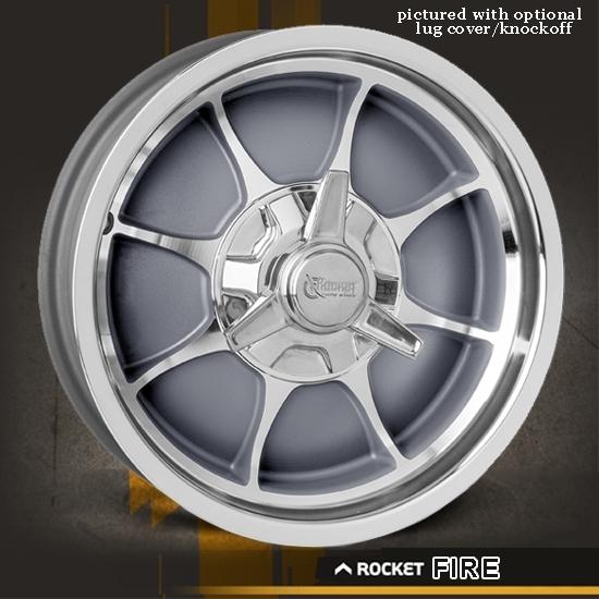 Rocket Racing Wheels-Fire-Gray