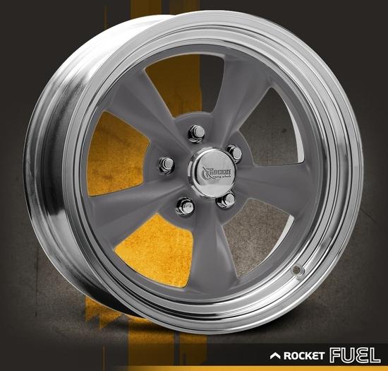 Rocket Racing Wheels-Fuel-Gray