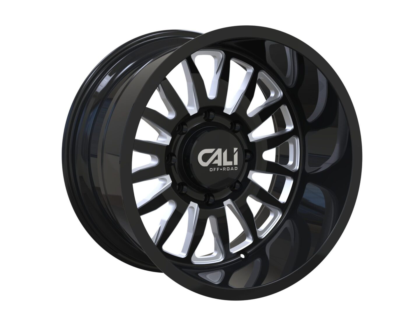 Cali Offroad Wheel 9110 black and machined