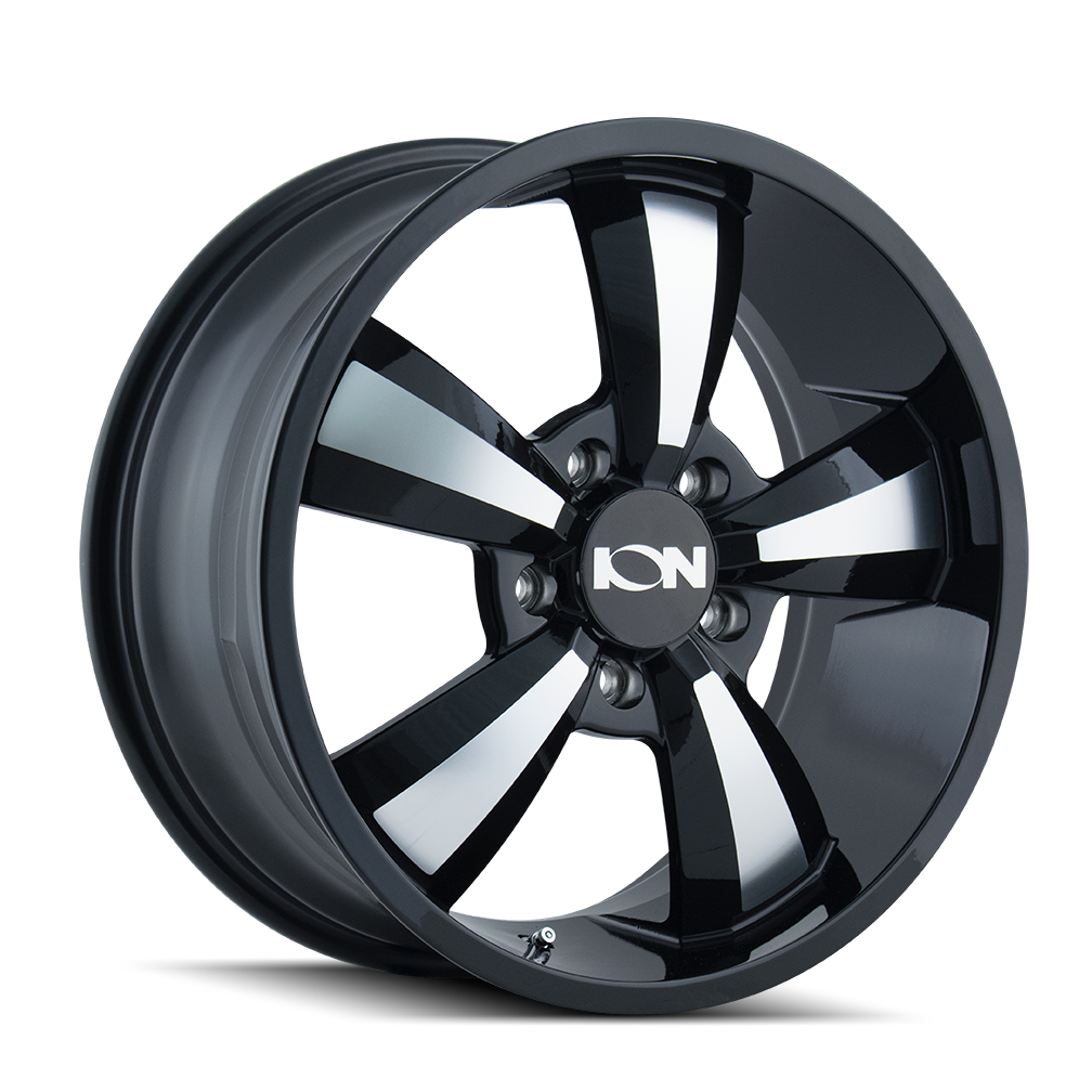 ION 102 Gloss Black Machined Face